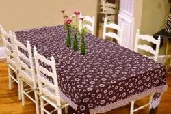 PVC Now Woven Table Cover