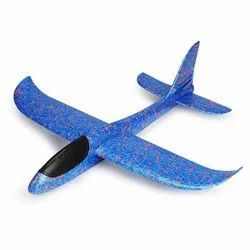 Plastic Kids Throwing Toy Airplane, For Personal, 3 Years And Above