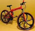 Red Porsche Foldable Cycle