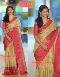 Uppada Pure Soft Silk Saree