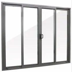 Partition Doors Black Aluminium Sliding Door
