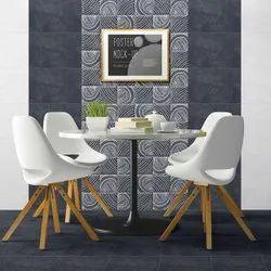 Ceramic Glossy 30x45 Cm Digital Wall Tile, Thickness: 5-10 mm