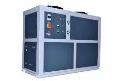 SKADI-W5 Air Cooled 5 TR Automatic Three Phase Stainless Steel Water Chiller Plant, Copland Compressor
