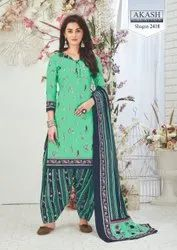 Shagun Vol 24 Akash Creation Cotton 2401-2425 Series