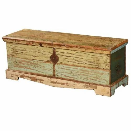 Furniture Boutiq Avondale Treasure Reclaimed Wood Coffee Table Chest Storage Trunk At Rs 9999 Piece Basni Ii Phase Basni Jodhpur Id 22978780862