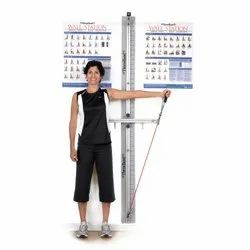Mild Steel Flexible THERABAND TRAINING STATIONS - WALL STATION
