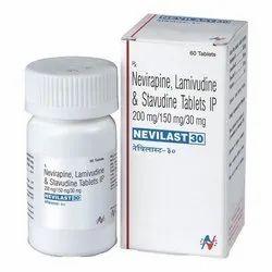 Nevirapine Lamivudine And Stavudine Tablets IP