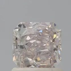 Cushion 0.94 CT SI2 Fancy Light Pinkish Brown