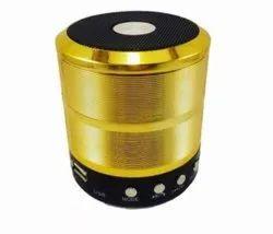 Golden Portable Wireless Bluetooth Speaker