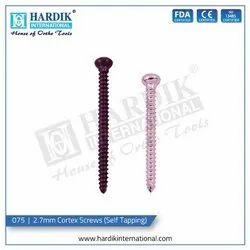 2.7mm Cortex Screws (Self Tapping)