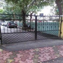 Swing Black Residential Main Gates