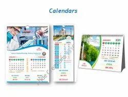3 Days English Wall Calendar Printing Services