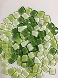 SISA Square Glass Mosaic Pebbles Tiles