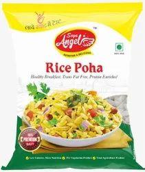 Soya Angel White 500 Grm Premium Rice Poha, Organic