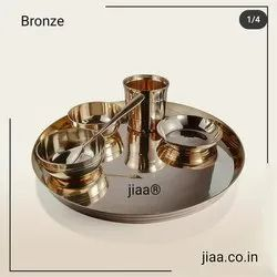 Jiaa Bronze Gold Dinner Set
