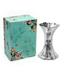 Ridged Crystal Bow Vase (Small)