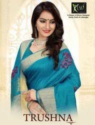 Kessi Trushna Weaving Designer Silk Saree Catalog