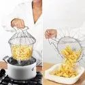 Chef Basket 12 In 1 Stainless Steel Kitchen Tool For Deep Frying, Boiling, Cooking