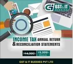 Income Tax Annual Return Service, in Pan India