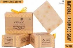 Orange Peel Scrub Soap