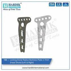 Locking Distal Radius Buttress Plate 2.7mm