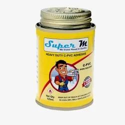 Super m 125 ml Heavy Duty CPVC Pipe Solvent Adhesive, Tin Can