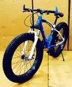 BMW Sleek Design Blue Fat Tyre Cycle