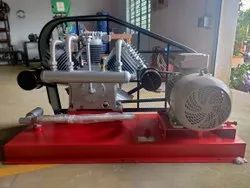 15 HP Base Mounted Model High Pressure Air Compressor