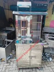 floor mounted shawarma machine