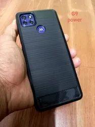 Moto G9 Power Black Hybrid Mobile Back Cover