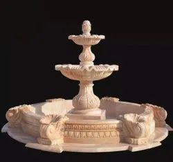 Sandstone Outdoor Water Fountain