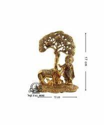 17x13 Cm Lord Krishna Statue