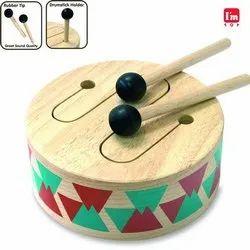 Classic Drum with 2 Sticks