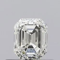 0.50ct Emerald K VS1 GIA Certified Natural Diamond
