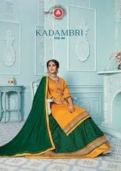 Triple AAA Kadambari Vol 4 Jam Silk With Work Salwar Suit Catalog