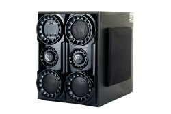 Babhubali Wooden 4.1 Black Bahubali Multimedia Speaker, 1000 W