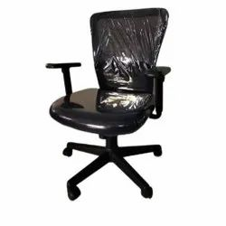 Polyester Used Office Chair, Black