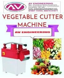 Commercial Vegetables Cutting Machine