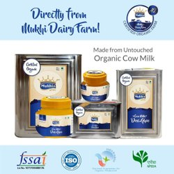 Mukhia Cow Desi Ghee Organic Certified