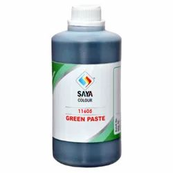 Green Pigment Paste For Paint