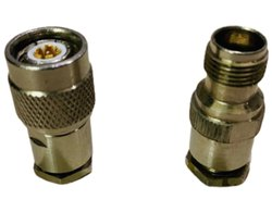 Dipeshwari TNC Triaxial Connector, 93 Ohm, Gold Plated