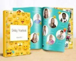 Perfect Bound School Year Book