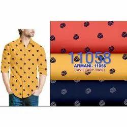 Mens Printed Casual Wear Shirt, Size: XL