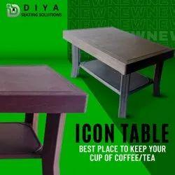 Diya Durable Plastic Teapoy