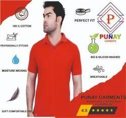 Punay Cotton Polo T-Shirt