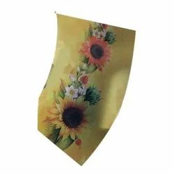 Floral Leather Printing Services