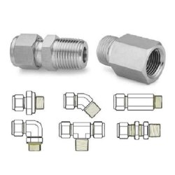 Monel Instrumentation Tube Fitting, Size: 38.1 mm
