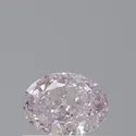 Oval 0.41ct Light Pink SI2 GIA Certified Natural Diamond