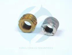 Round Brass Insert
