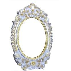 Carved Fiber Mirror Frame, Size/Dimension: 48 X 58 Inch